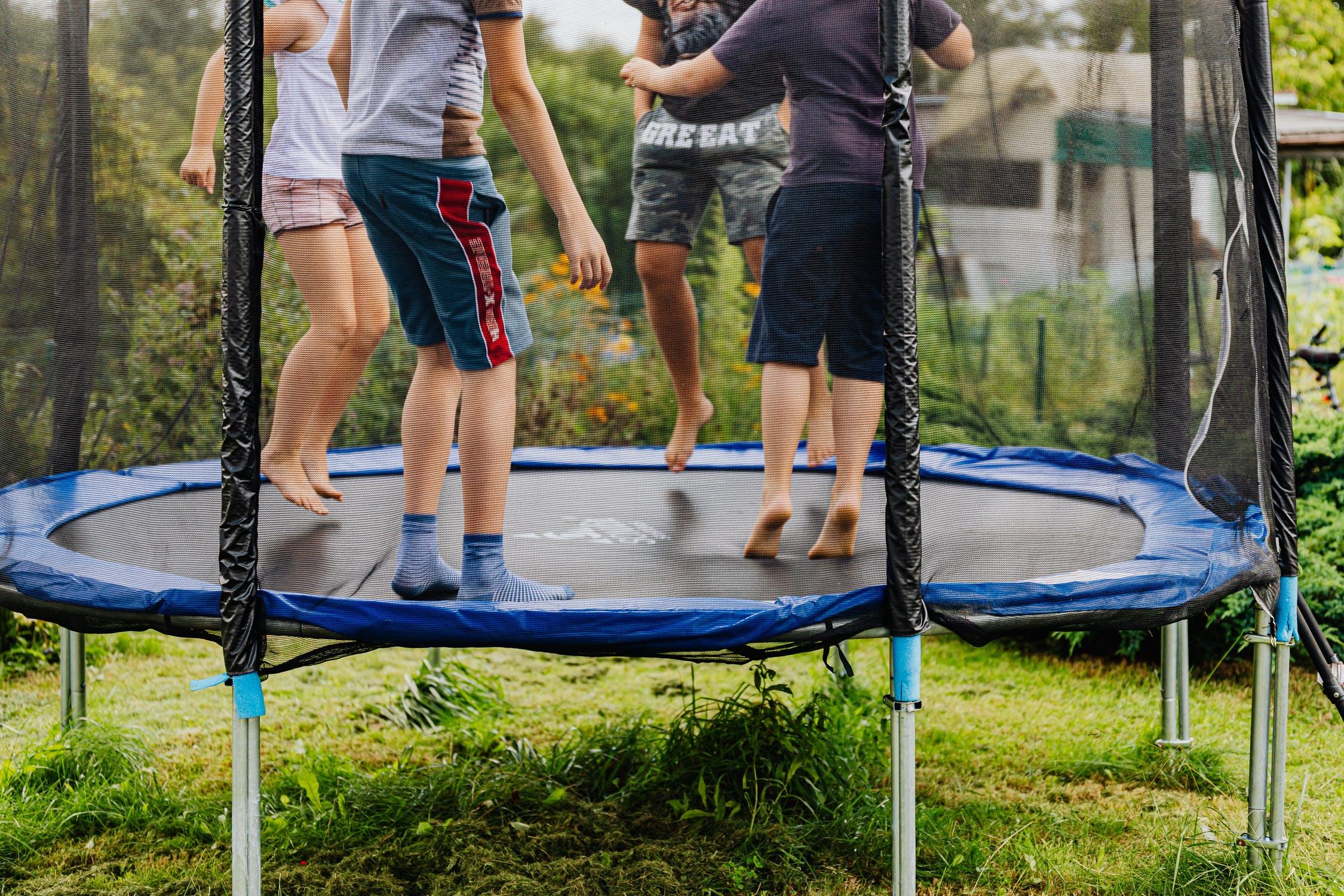 trampoline training